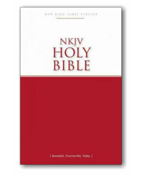 Holy Bible - NKJV (paperback)