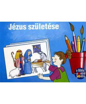 Jézus születése - kifestő