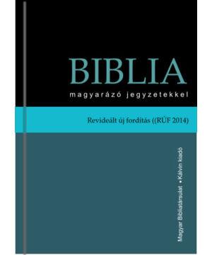 Biblia magyarázó jegyzetekkel