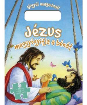 Jézus meggyógyít... - puzzle