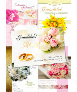 B/Esküvő (6db) csomag