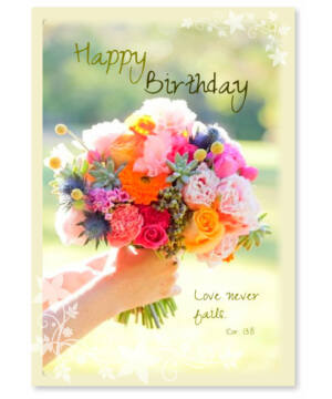 Képeslap - angol (Birthday) 01