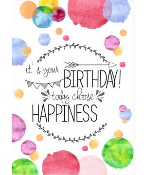Képeslap - angol (Birthday) 03