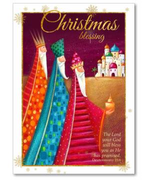 Karácsonyi képeslap (borítékos) 02 angol
