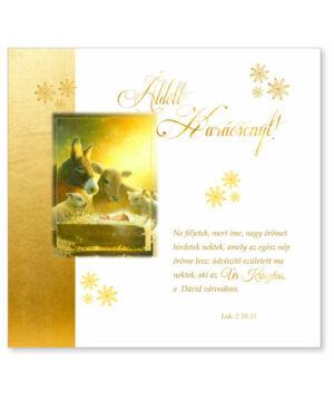 B/Kar.képeslap (arany) - 03