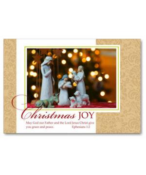Karácsonyi képeslap - nyílt 12