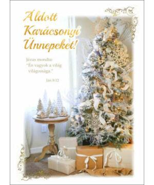 Karácsonyi képeslap - nyílt 10