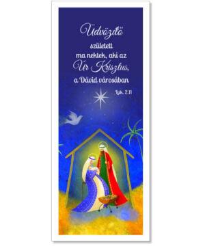 Karácsonyi Könyvjelző - 01 (10db)
