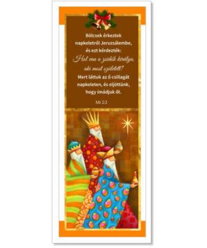 Karácsonyi Könyvjelző - 03 (10db)