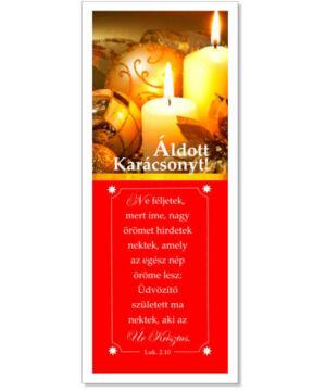 Karácsonyi Könyvjelző - 04 (10db)