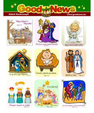 Karácsonyi matrica - 06
