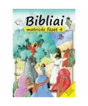 Bibliai matricás füzet - 4.