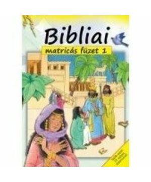 Bibliai matricás füzet - 1.