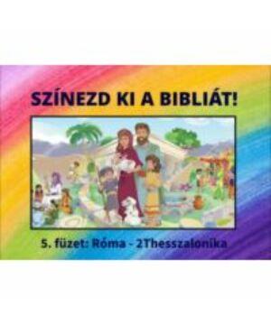 Színezd ki a Bibliát - 5.rész