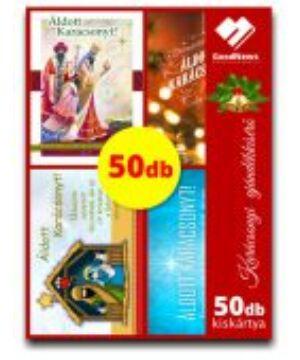 Kar. ajándékkísérők (50db) vegyes