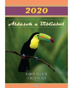 Falinaptár - 2020 (Kerugma) nagy fali (madár)
