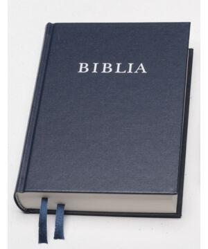 Biblia - RUF (kicsi) - kék (vászon)