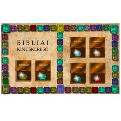 Bibliai kincskereső - társasjáték