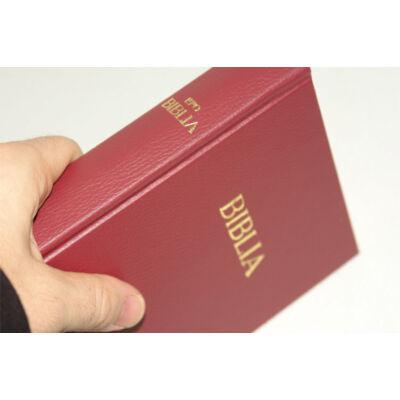 Biblia - EFO egyszerű fordítás / kemény bor. (bordó)