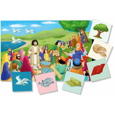 Csodadolgok/Jézus csodái - játék