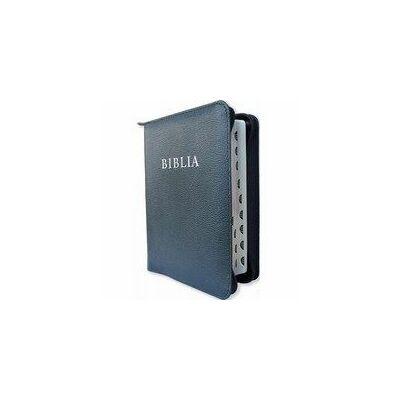 Biblia - RÚF / bőrkötés, cipzár (kicsi)
