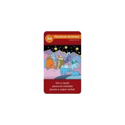 Jászolba született gyermek - (kártya)