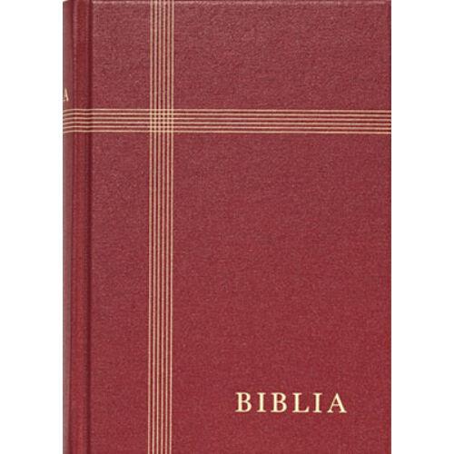 Biblia - RUF (kicsi) vászon bordó