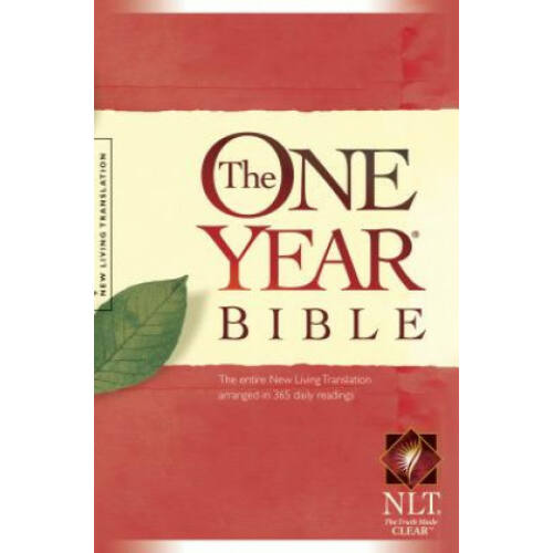 The One year Bible - NLT - hardcover