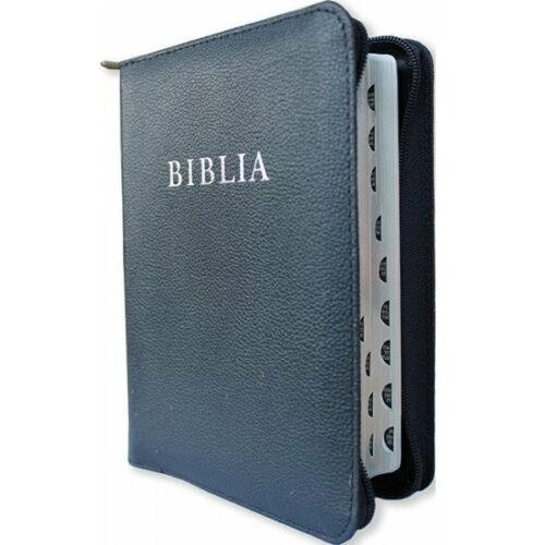 Biblia - RÚF / bőrkötés, cipzár (nagy)