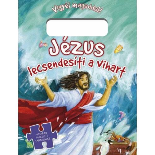 Jézus lecsendesíti... - puzzle
