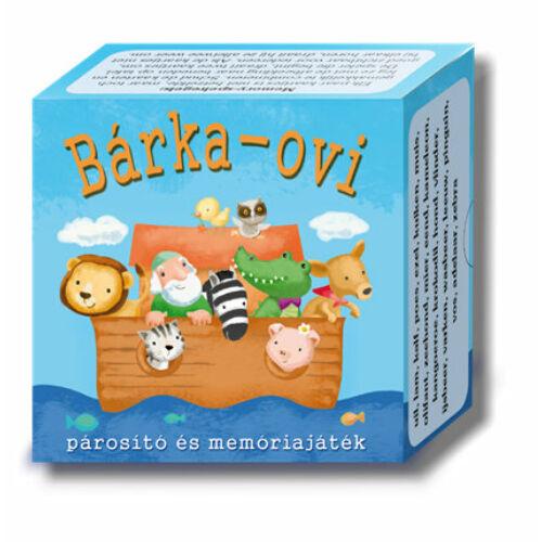Memó - Bárka - ovi (memóriajáték)
