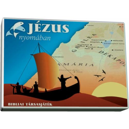 Jézus nyomában / társasjáték