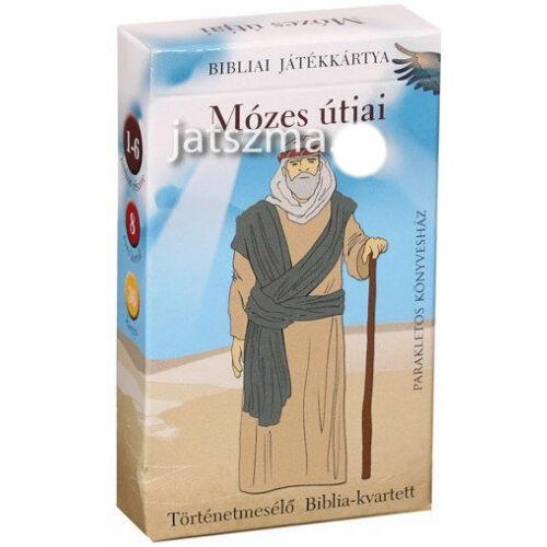 Mózes útjai  - Bibliai játékkártya