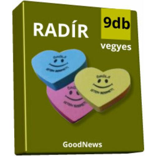 Radír  - csomag (9db-os)