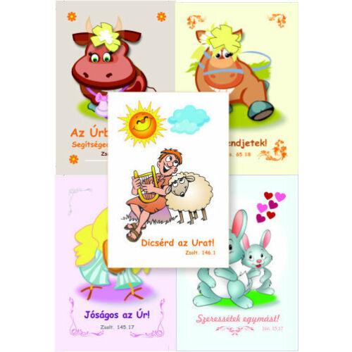 Igés Kártya - gyermek (10db)
