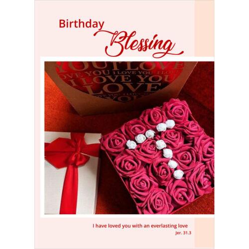 Képeslap - angol (Birthday) 02
