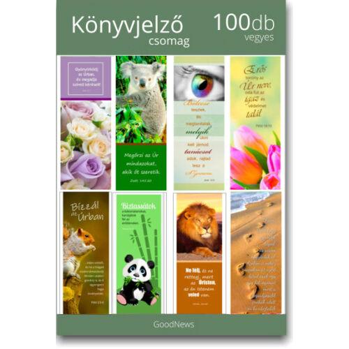 Könyvjelző - (100db) csomag