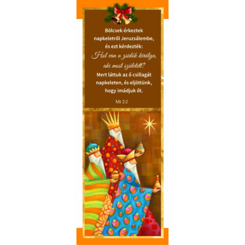 Karácsonyi Könyvjelző 03