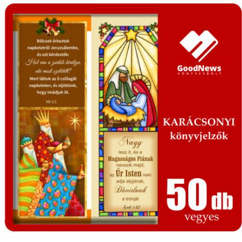 A Karácsonyi könyvjelzők (50db) vegyesen