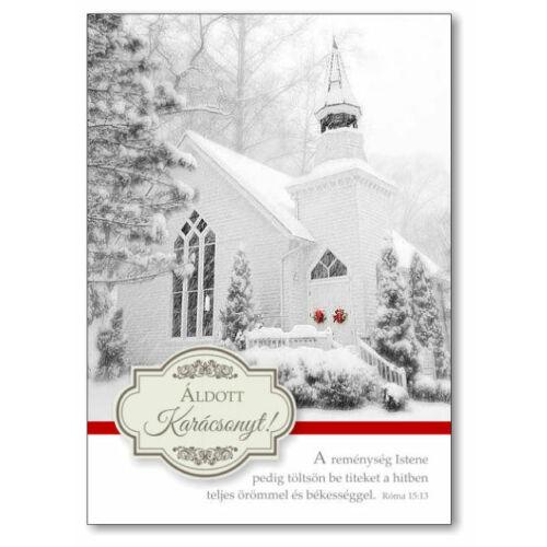 Karácsonyi képeslap - nyílt 03