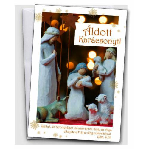 Karácsonyi képeslap (borítékos) 01