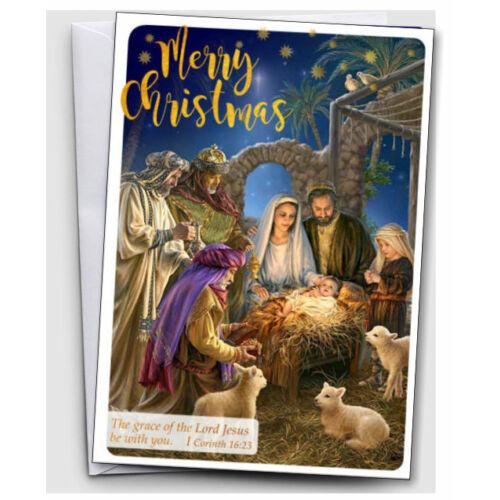 Karácsonyi képeslap (borítékos) 03 angol