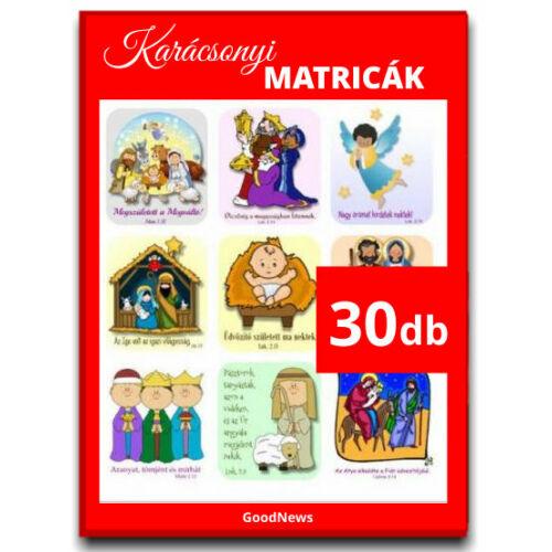 A Karácsonyi- matrica mix (30db)
