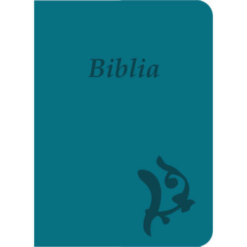 ÚjKároli Biblia - türkizkék