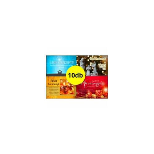 Kar. ajándékkísérők (10db) vegyes