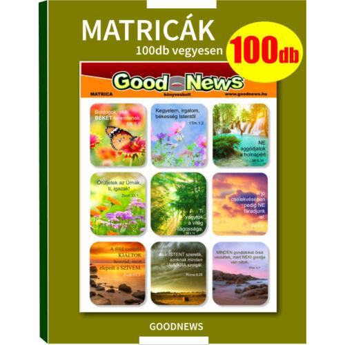 Matricák - (100db) vegyes