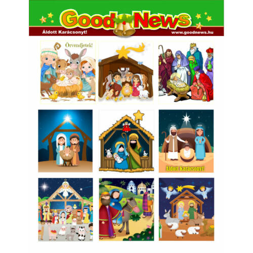 Karácsonyi matrica - 05