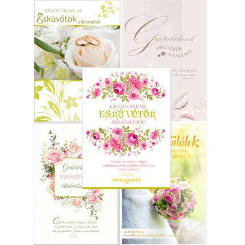 B / Esküvő (6db) csomag