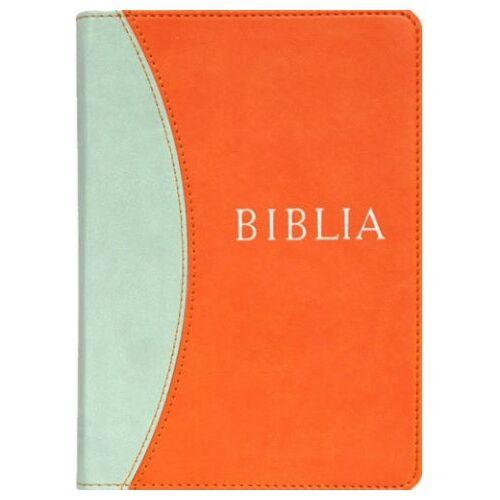 Biblia - RÚF (kicsi) puha /szürke-narancs