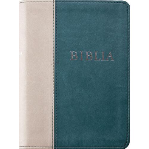 Biblia - RÚF (kicsi) puha /szürke-zöld